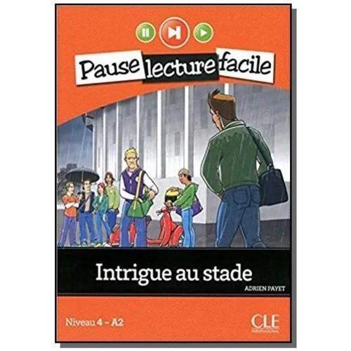 INTRIGUE AU STADE - LIVRE + CD AUDIO