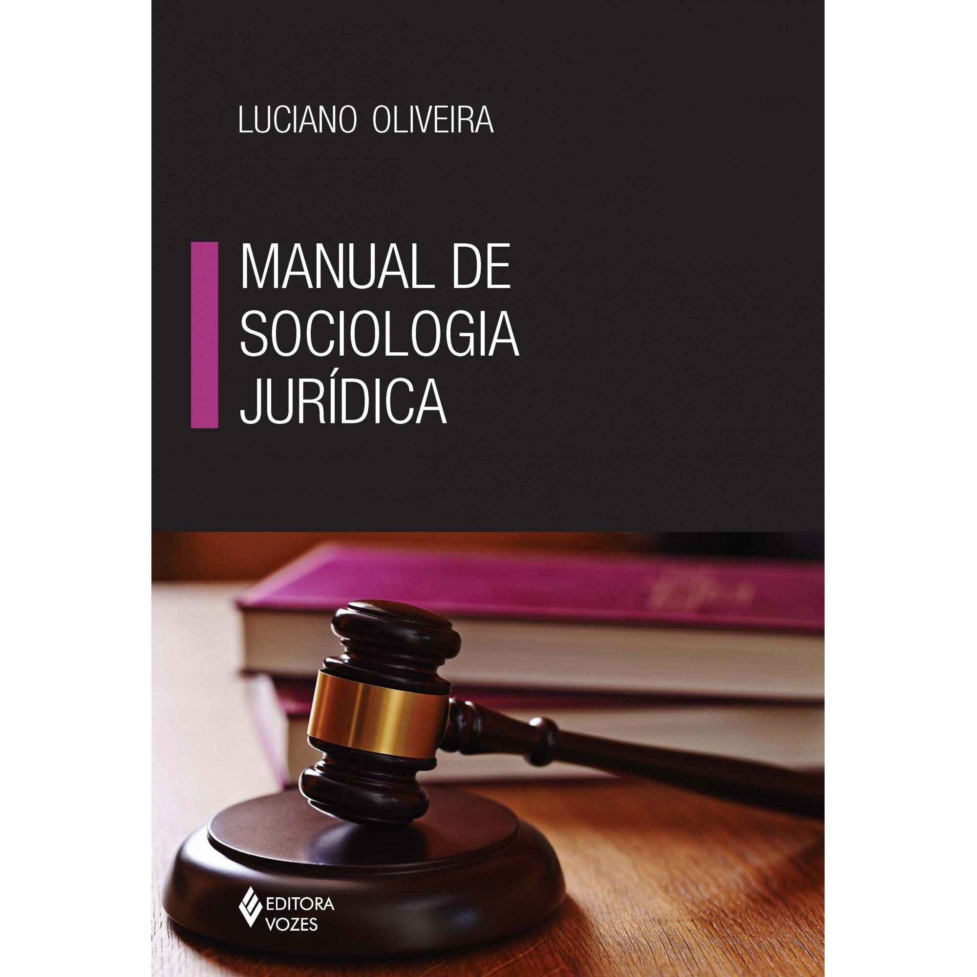 MANUAL DE SOCIOLOGIA JURÍDICA