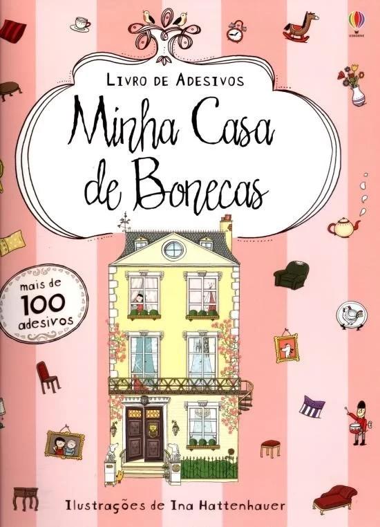 MINHA CASA DE BONECAS : LIVRO DE ADESIVOS