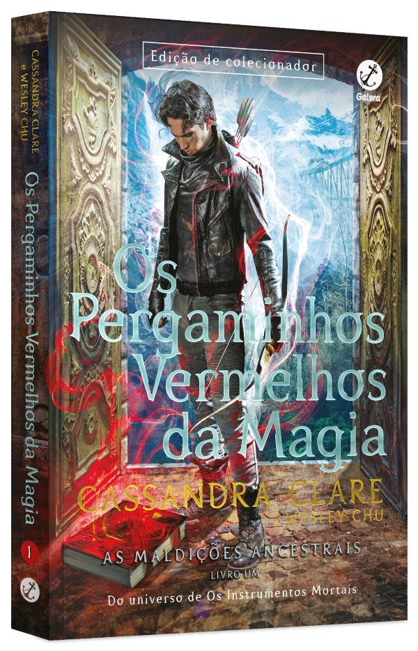OS PERGAMINHOS VERMELHOS DA MAGIA - VOL. 1 AS MALDICOES ANCESTRAIS