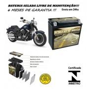 Bateria Selada Harley Davidson Softail Fat Boy Special