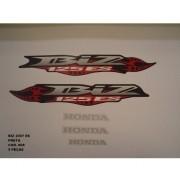 Faixa Biz 125 Es 07 - Moto Cor Preta (808 - Kit Adesivos)