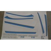 Faixa Cb 450 Tr 87 - Moto Cor Azul (146 - Kit Adesivos)