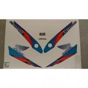 Faixa Cb 500 98 - Moto Cor Azul (370 - Kit Adesivos)