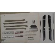 Faixa Cbr 450 89/90 - Moto Cor Grafite (191 - Kit Adesivos)