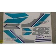 Faixa Cbx 150 Aero 91 - Moto Cor Perola (170 - Kit Adesivos)