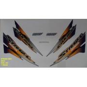 GUIDAO MOD ORIGINAL NXR 125/150 BROS ...09 PRATA METAL ROPER