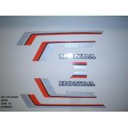 Faixa Cg 125 83/84 - Moto Cor Azul (14 - Kit Adesivos)