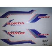 Faixa Cg 125 88 - Moto Cor Branca (24 - Kit Adesivos)