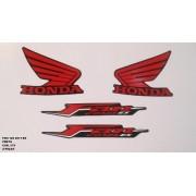 Faixa Cg 125 Fan Es 11 - Moto Cor Preta (979 - Kit Adesivos)