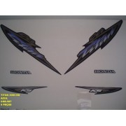 Faixa Cg 125 Titan Ks 04 - Moto Cor Azul - Kit 587