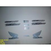 Faixa Cg 150 Titan 04 - Moto Cor Verde (631 - Kit Adesivos)