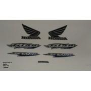 Faixa Cg 150 Titan Es 06 - Moto Cor Prata - Kit 705
