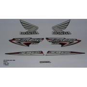 Faixa Cg 150 Titan Esd 07 - Moto Cor Preta - Kit 752