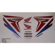 Faixa Cg 150 Titan Ex 15 - Moto Cor Branca - Kit 1172