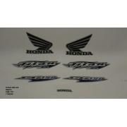 Faixa Cg 150 Titan Ks 06 - Moto Cor Prata - Kit 701