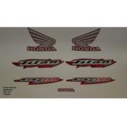 Faixa Cg 150 Titan Ks 06 - Moto Cor Vermelha - Kit 700