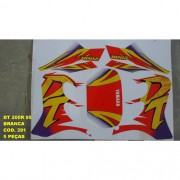 Faixa Dt 200r 95 - Moto Cor Branca (391 - Kit Adesivos)