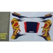 Faixa Dt 200r 96 - Moto Cor Branca (416 - Kit Adesivos)