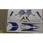 Faixa Dt 200r 98 - Moto Cor Azul (354 - Kit Adesivos)