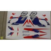 Faixa Dt 200r 98 - Moto Cor Branca (353 - Kit Adesivos)
