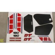 Faixa Dtn 180 86 - Moto Cor Branca (213 - Kit Adesivos)