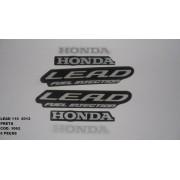 Faixa Lead 110 12 - Moto Cor Preta (1062 - Kit Adesivos)
