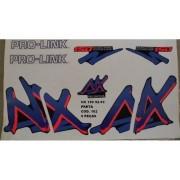 Faixa Nx 150 92/93 - Moto Cor Preta (162 - Kit Adesivos)
