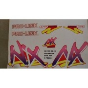 Faixa Nx 150 92/93 - Moto Cor Vermelha (161 - Kit Adesivos)
