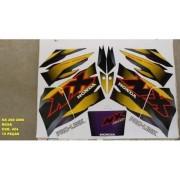 Faixa Nx 200 00 - Moto Cor Roxa (424 - Kit Adesivos)