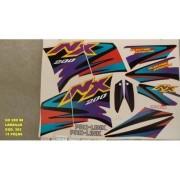Faixa Nx 200 98 - Moto Cor Laranja (383 - Kit Adesivos)