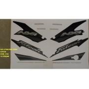Faixa Nx 400 Falcon 02 - Moto Cor Cinza (516 - Kit Adesivos)