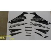 Faixa Nx 400 Falcon 03 - Moto Cor Preta (572 - Kit Adesivos)
