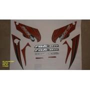 Faixa Nx 400 Falcon 07 - Moto Cor Laranja - Kit 767