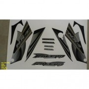 Faixa Nx 400 Falcon 08 - Moto Cor Preta (865 - Kit Adesivos)