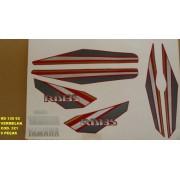 Faixa Rd 135 92 - Moto Cor Vermelha (321 - Kit Adesivos)