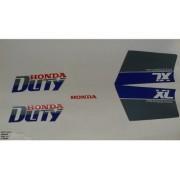 Faixa Xl 125 91 - Moto Cor Branca (111 - Kit Adesivos)