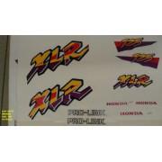 Faixa Xlr 125 97 - Moto Cor Branca - Kit 198