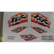 Faixa Xlr 125 99 - Moto Cor Azul (379 - Kit Adesivos)