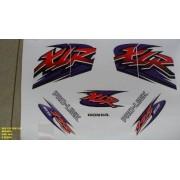 Faixa Xlr 125 Es 01 - Moto Cor Branca (462 - Kit Adesivos)