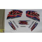 Faixa Xlr 125 Es 01 - Moto Cor Preta (464 - Kit Adesivos)