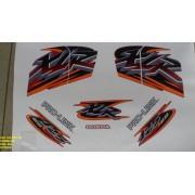 Faixa Xlr 125 Es 01 - Moto Cor Vermelha - Kit 463