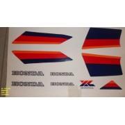 Faixa Xls 125 86 - Moto Cor Branca (102 - Kit Adesivos)