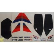 Faixa Xlx 350 87 - Moto Cor Branca (114 - Kit Adesivos)