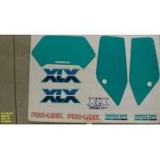 Faixa Xlx 350 90 - Moto Cor Branca (121 - Kit Adesivos)