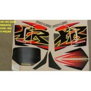 Faixa Xr 200 00 - Moto Cor Branca (425 - Kit Adesivos)