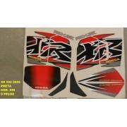 Faixa Xr 200 00 - Moto Cor Preta (426 - Kit Adesivos)