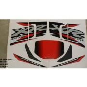 Faixa Xr 200 02 - Moto Cor Branca (497 - Kit Adesivos)