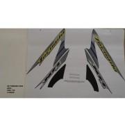 Faixa Xr 250 Tornado 06 - Moto Cor Azul (734 - Kit Adesivos)