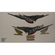 Faixa Xre 300 10 - Moto Cor Amarela (885 - Kit Adesivos)